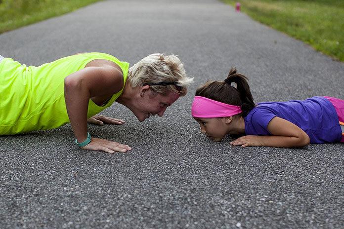 Ćwiczenia dla mam z dziećmi - nowy trend w zajęciach fitness