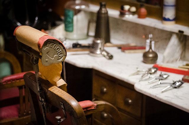Akcesoria fryzjerskie w sklepie fryzjerskim