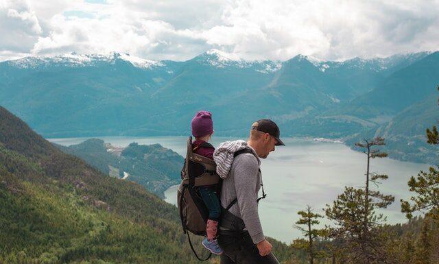 z dzieckiem w góry