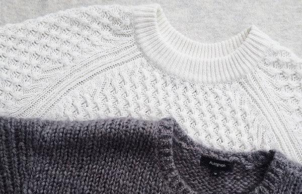 Długie swetry